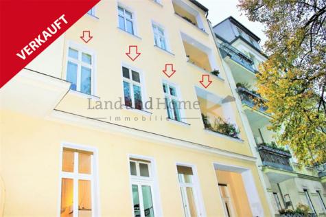 Bln.-Pankow, 2-Zimmer Altbauwohnung mit Balkon in angenehmer Wohnlage, 13189 Berlin, Etagenwohnung