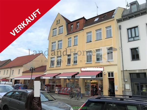 VERKAUFT, Top Renditeobjekt im Herzen der Altstadt, gepflegtes Wohn- und Geschäftshaus, 15344 Strausberg, Wohn- und Geschäftshaus