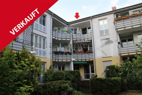 Vermietete 2 Zimmerwohnung mit Sonnenbalkon und Garage in oberster Etage, 15566 Schöneiche, Etagenwohnung