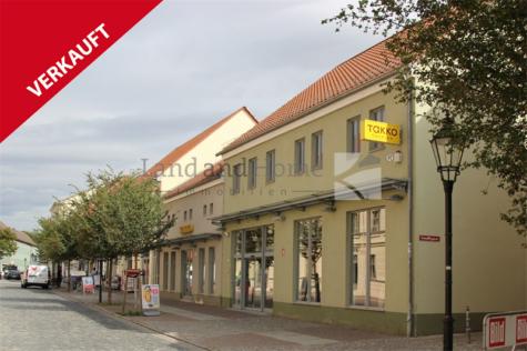 VERKAUFT, Modernes Gewerbeobjekt im Zentrum der historischen Altstadt, 16278 Angermünde, Wohn- und Geschäftshaus