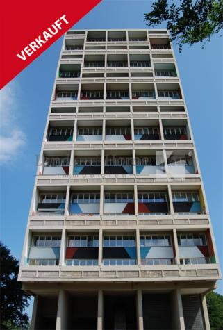 Corbusierhaus 3-Zimmer Maisonette in oberster Etage mit Traumausblick, 14055 Berlin, Etagenwohnung